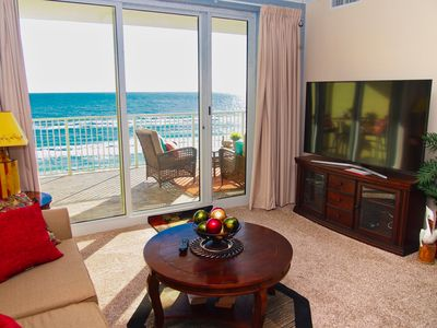 Photo for Newly Remodeled Ocean Reef 706 Beach Condo, Low Floor, Comfortable Balcony!