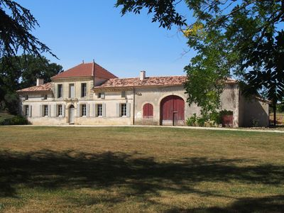 Photo for Château Petit Luc, beautifully renovated wine estate with heated pool