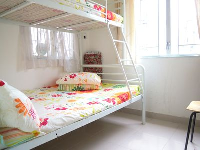 2 Bdrm, tidy @Mongkok up to 6 pax
