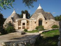 Excellent and authentic Puglia. Beautiful setting for a well cared for and presented Trulli.