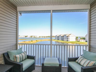 Photo for BB255: Wetland Views! 4BR Bethany Bay Condo - 2 Masters - Pool, Golf, & More