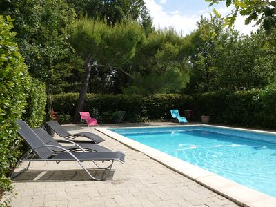 Photo for Beautiful house with big garden and private pool