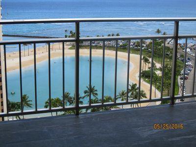 Photo for Ilikai 1916 Remodeled Luxury Unobstructed Direct Lagoon, Ocean , Firework Views