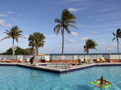 Photo for APART HOLLYWOOD BEACH 8 RESORT miami,sea view,pool jacuzzi,owner
