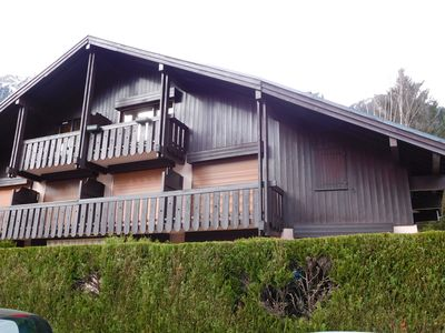 Photo for Beautiful duplex near center splendid terrace view Mont Blanc