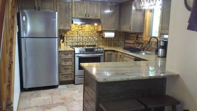 New for 2019 - Fully renovated Kitchen with Granite & all Stainless Appliances