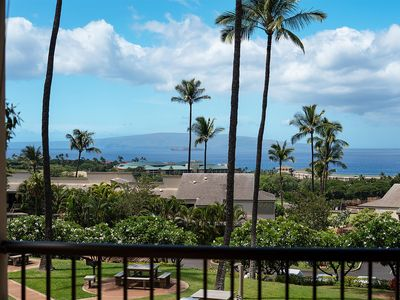 Photo for Sweeping Ocean Views, Private, Upscale Tropical Wailea 2-Story