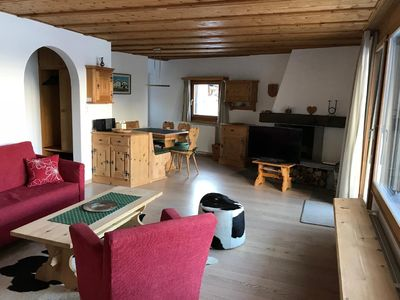 Photo for Holiday apartment Sils Maria (Sils im Engadin / Segl) for 4 persons with 2 bedrooms - Holiday apartm