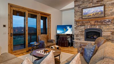 Mountain Home Retreat 1235H - a SkyRun Park City Property - Living Room with Great Views