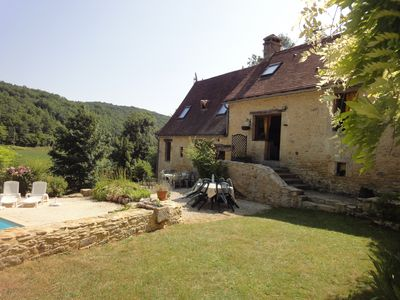 Photo for Charming 17thC Mill In An Exceptional Setting,all Comforts And Private Pool