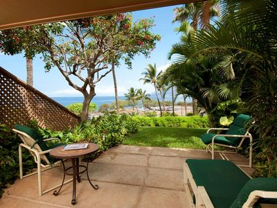 Maui Kamaole A107 Lanai - Front row with great Ocean View