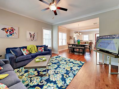 Living Room - Welcome to Savannah! Your rental is professionally managed by TurnKey Vacation Rentals.