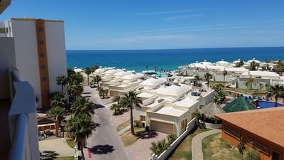 Photo for Las Palmas Resort - 2br 2ba beachfront getaway with a million $ view!!!