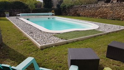 Photo for Gite 8 people with heated pool