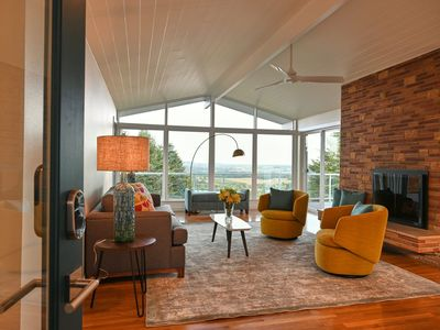 Photo for NEW LISTING! Views, Views, Views, Mid-Century Home Overlooking Willamette Valley