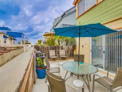 Photo for PRIVATE Beach Home w/ AC! Large Garage, Beach toys, Ground Floor Patio! **ON SPECIAL**