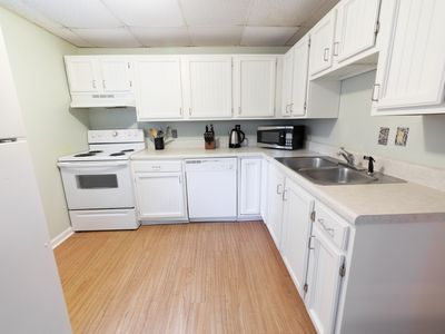 Photo for Private & sweet patio level apartment in downtown Winston-Salem