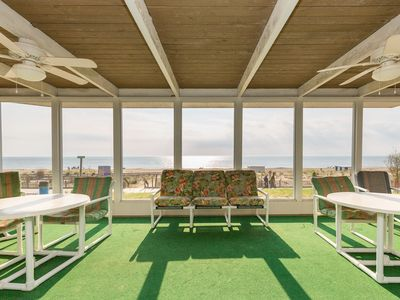 Photo for Pickwick Oceanfront in downtown Rehoboth Beach On the boardwalk, beach and ocean