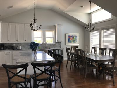 Photo for Vacation Oasis in LBI Brand New: 6 Bedrooms and heated pool short walk to beach