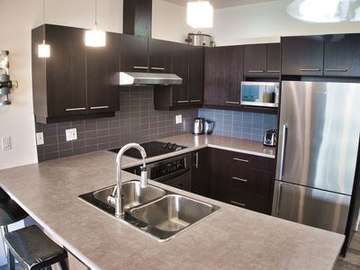 Photo for Stunning, Modern, Luxury Condo Downtown Near Inner Harbour (2bd/2ba)