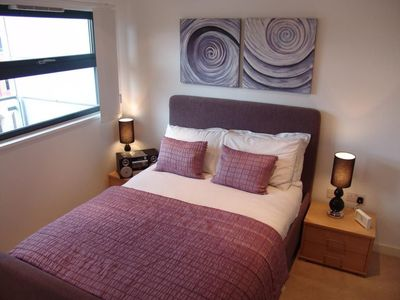 Photo for 1BR Apartment Vacation Rental in Salford