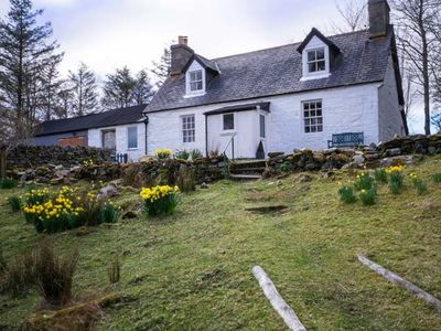Photo for OLD GRUMBEG COTTAGE, with open fire in Bettyhill , Ref 945345