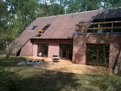Photo for Grande Villa nestled in the forest of Le Touquet