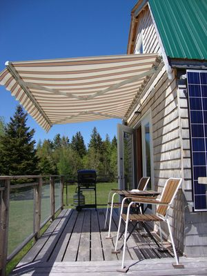 Photo for NEW! Solar powered but with a lot of amenities in a prestine part of PEI