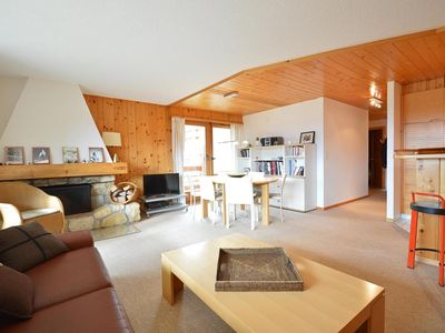 Photo for Charming flat located in the quiet region of Chemin des Vernes, in 5 minutes of the ski lift of Médr
