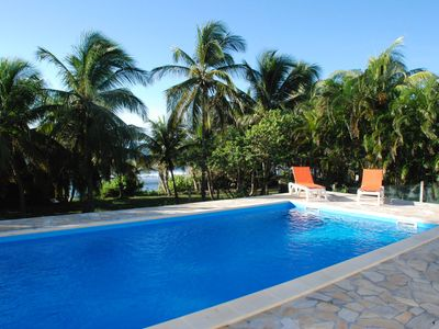 Photo for Beautiful Creole villa 5 bedrooms feet in water