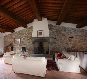 Photo for Stylish Barn Conversion near Medieval Hill Towns of Anghiari and Arezzo