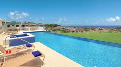 Photo for Holiday Apartment Barbados with Fantastic Caribbean Sea View for Holiday Rent