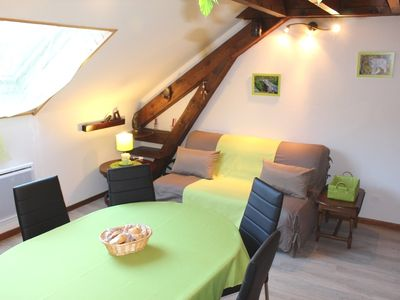 Photo for Nice attic apartment 2/6 pers: MAY / JUNE: 210 € / SEM!