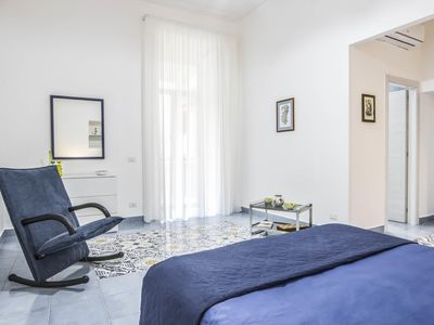 Photo for Il Limoncello  apartment in Anacapri with air conditioning & balcony.