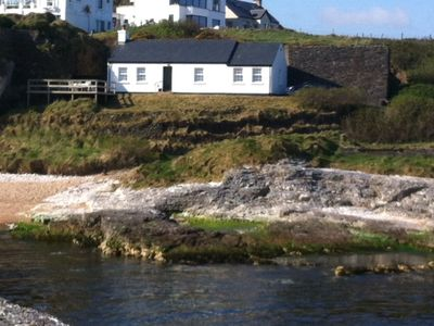 Photo for Ballintoy Beach Cottage, Romantic Seaside Getaway, Game of Thrones Location