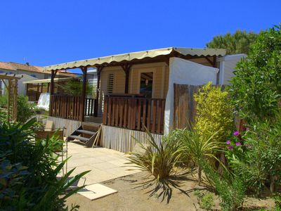 Photo for Chalet on the beach of Pampelonne