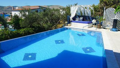 Photo for Exclusive villa with the 35m2 private swimming pool,  A/C in each room, seavie
