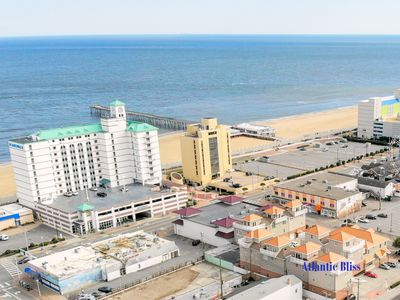 Photo for Stunning, contemporary, 4 story, beach condo, w/ rooftop deck. Amazing views!