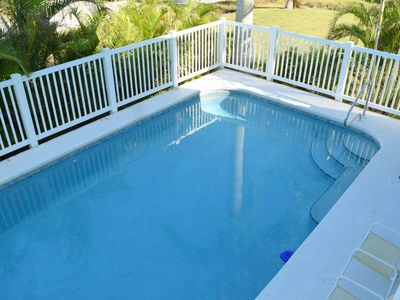 Photo for Across The Street From Bonita Beach Family Friendly Large Heated Pool !