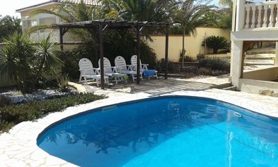 Photo for Rural Villa with private pool in Ontinyent, near to Costa del Azahar/ Valencia