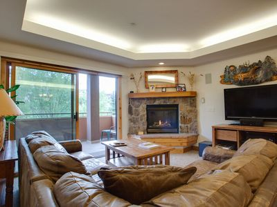 Photo for Creekside Family Retreat 200yds from Ski Area base-Pool/HotTub/Gym/Garage