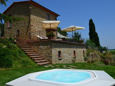 Photo for small stone house in Monte San Savino perfect for small families or couples