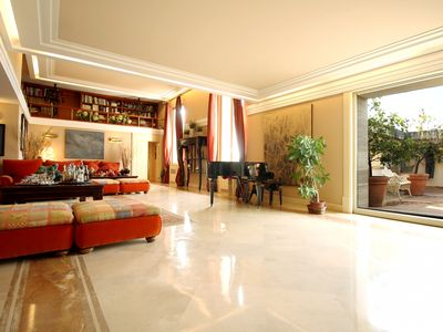 Photo for Stunning Terrace Luxury Penthouse - Apartment for 5 people in Roma