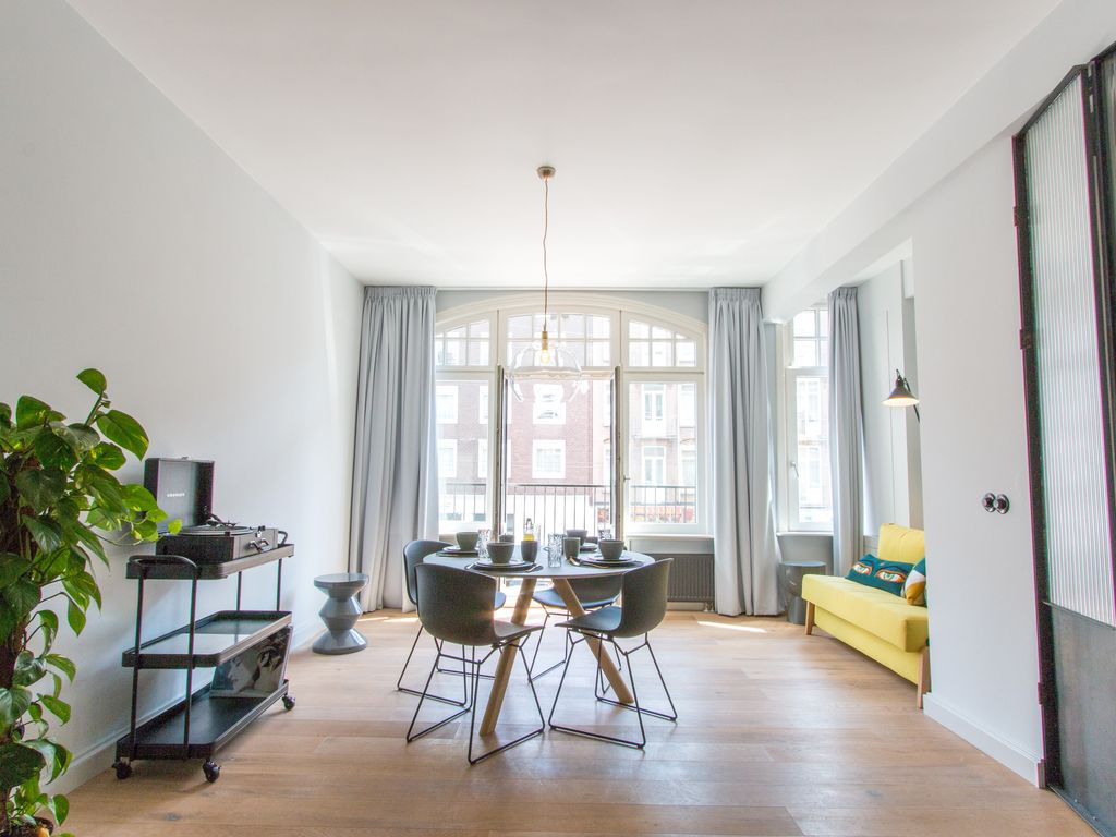 Appartement in oud west amsterdam gebied 4 personen for Appartement design tours