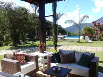 Photo for Wonderful place with tennis court, pool and lots of green - 16 km from Tere-Fri