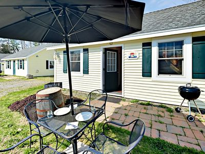 Patio - The front patio creates the perfect spot for savoring your favorite Boothbay craft beers.