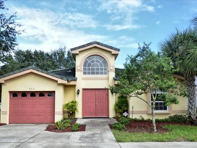 Photo for Newer Private Home: Pool/Hot Tub Courtyard, Gated Community, Minutes to Disney!