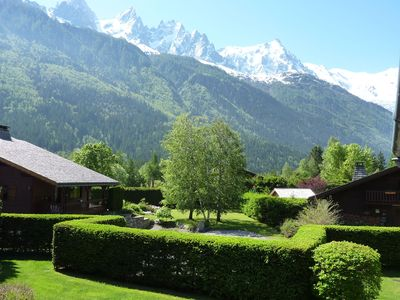 Photo for 3 rooms apartment on 1st floor of a residence in the heart of Chamonix.