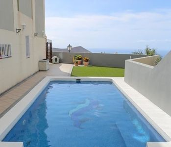 Photo for Tenerife South Sea View Chayofa up to 6 persons Pool