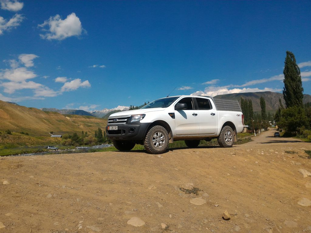 Expedition Ready Ford Ranger With Camping Equipment Photo 1